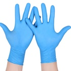 Food Safety Powder Free Disposable Nitrile Gloves Safety Latex Gloves Personal Protective for Antibacterial