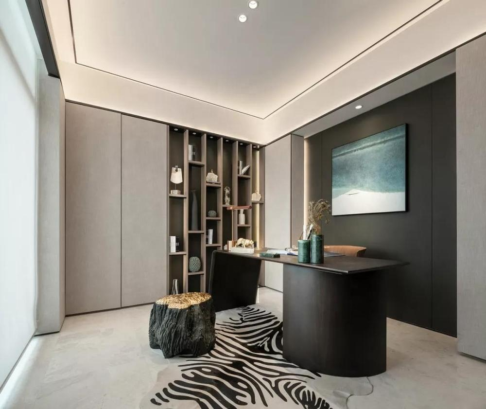 Modern Style Living Room Bookcase