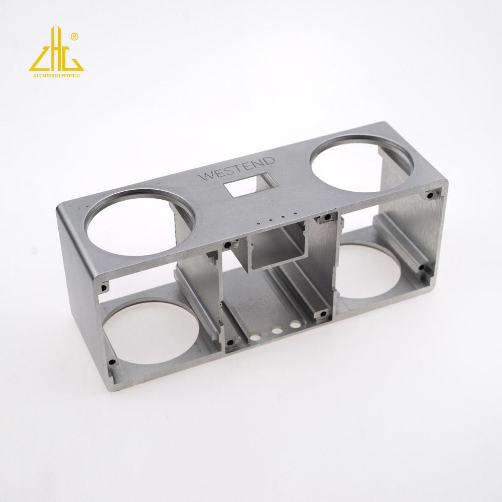 CNC aluminum Profile,Aluminum Profile With Bending Processing, Aluminum Machining Profile