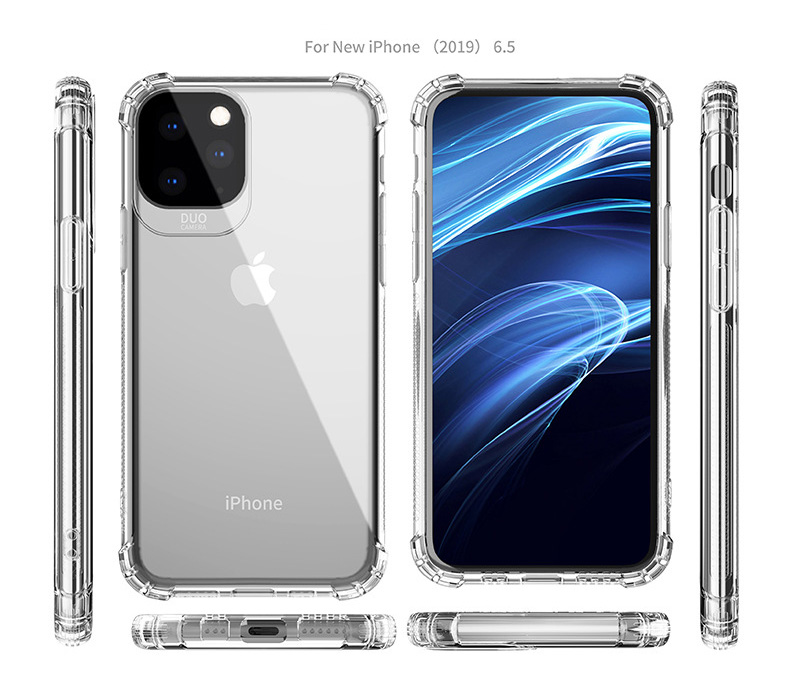 Voor iPhone 11 Pro Max Clear Ultra Dunne TPU Cover Smartphone Telefoon Case Voor iPhone 11 pro 2019