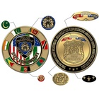 Logo Coin Ny Custom Design Logo Military Donald Challenge Coin Metal Antique Gold Bronze Coin Challenge Souvenir Coin