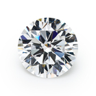 Zircon Loose White Cz Stone 8 Hearts And 8 Arrows Artificial CZ Stone Round White Synthetic Cubic Zircon Loose Gemstone