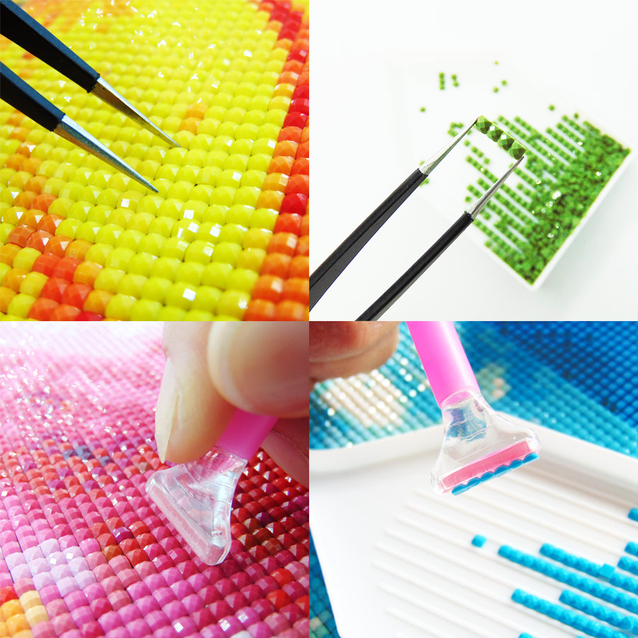 S-020 Chinese factory high quality heart DIY 5D diamond painting by numbers for adults S-020