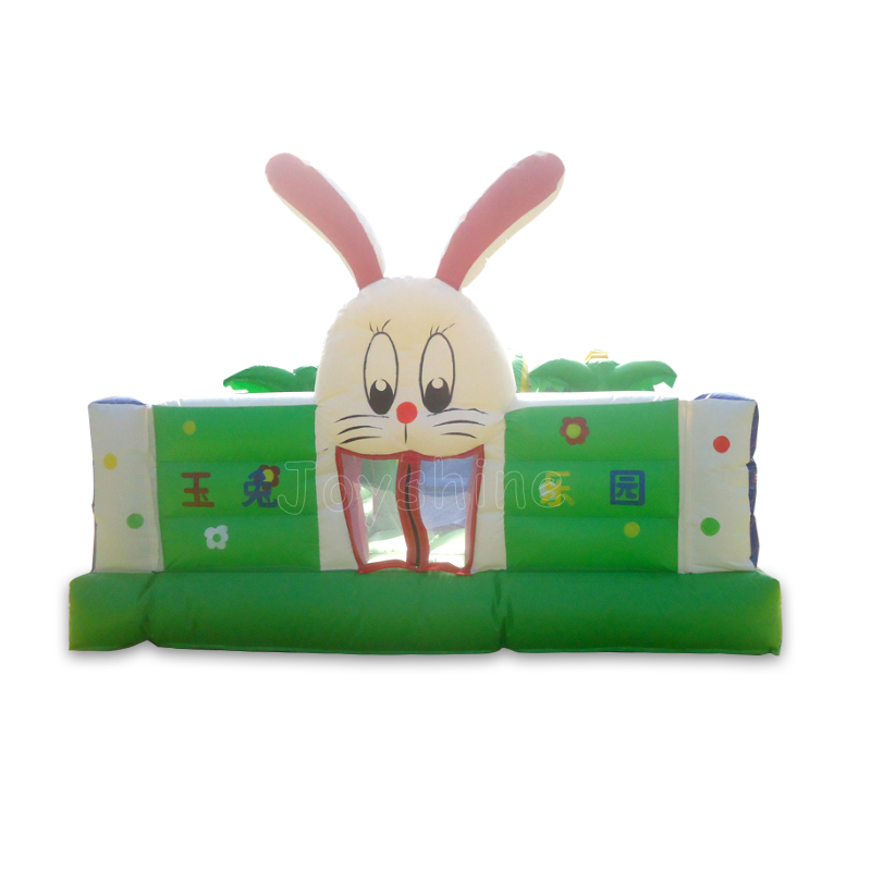 Rabbit Theme Large Inflatable Kids Jumping Bouncy Castle Outdoor Playground Cheap Bouncing Castles Amusement Park On Sale