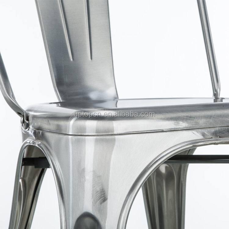 product-Uptop Furnishings-Sample design wood seat metal frame chair-img-1