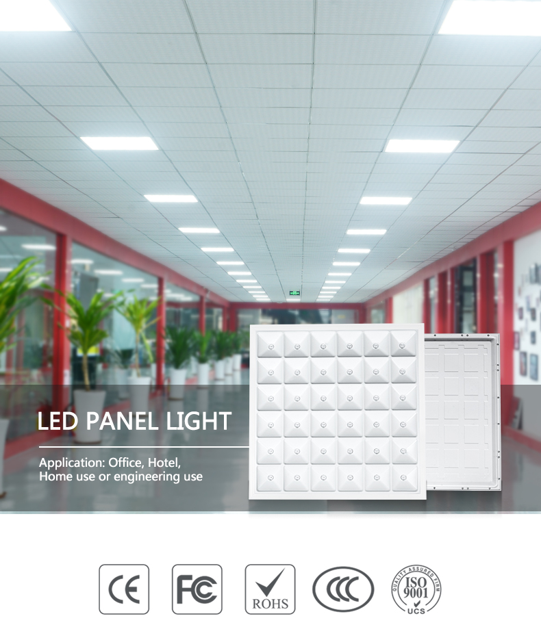 ALLTOP High quality white bright indoor lighting PC 36w square led panel light