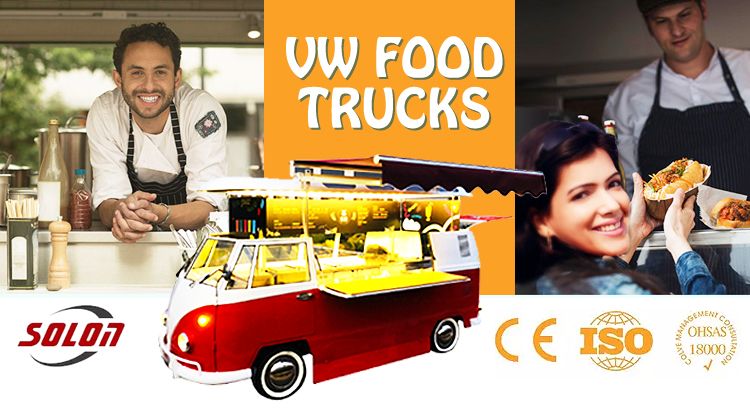 electric street mobile vw campering food truck bus for sale