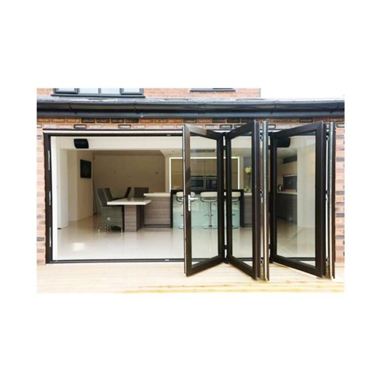 Factory produce nice quality Australian Standard AS2047 AS1288 Aluminum Bi-fold door