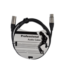 Accuracy Pro Audio MC197-10FT 3 Meters 3P XLR Male To 3P XLR Female OFC Microphone Cable