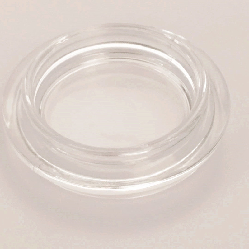 Food Grade Glass Lid Glass Jar Use Clamp Lid