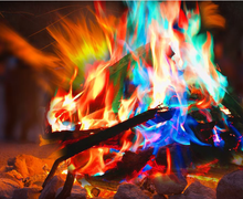 Magical fire  can be used in magic show