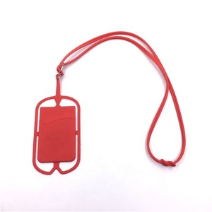 Universal back strap silicone phone case holder hang rope phone case accessories for phone