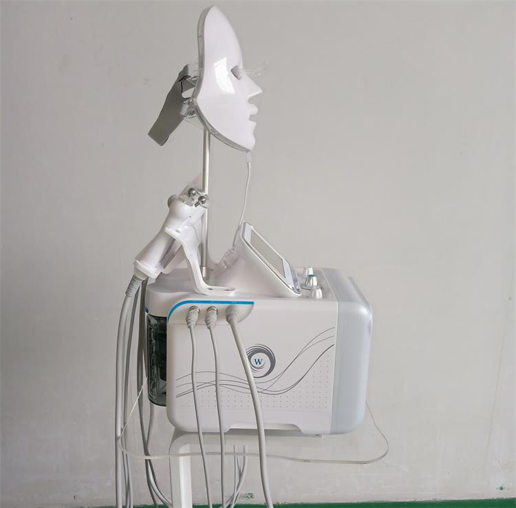 7 in 1 Hydra Dermabrasion Diamond Peeling and Water Jet Beauty Aqua Peel Dermabrasion Facial Peel Machine With LED Mask