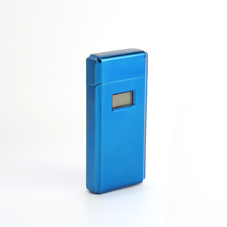 Custom Sleek USB Rechargeable Flameless Upgraded Dual Arc Plasma Lighter Windproof Flip Lighter