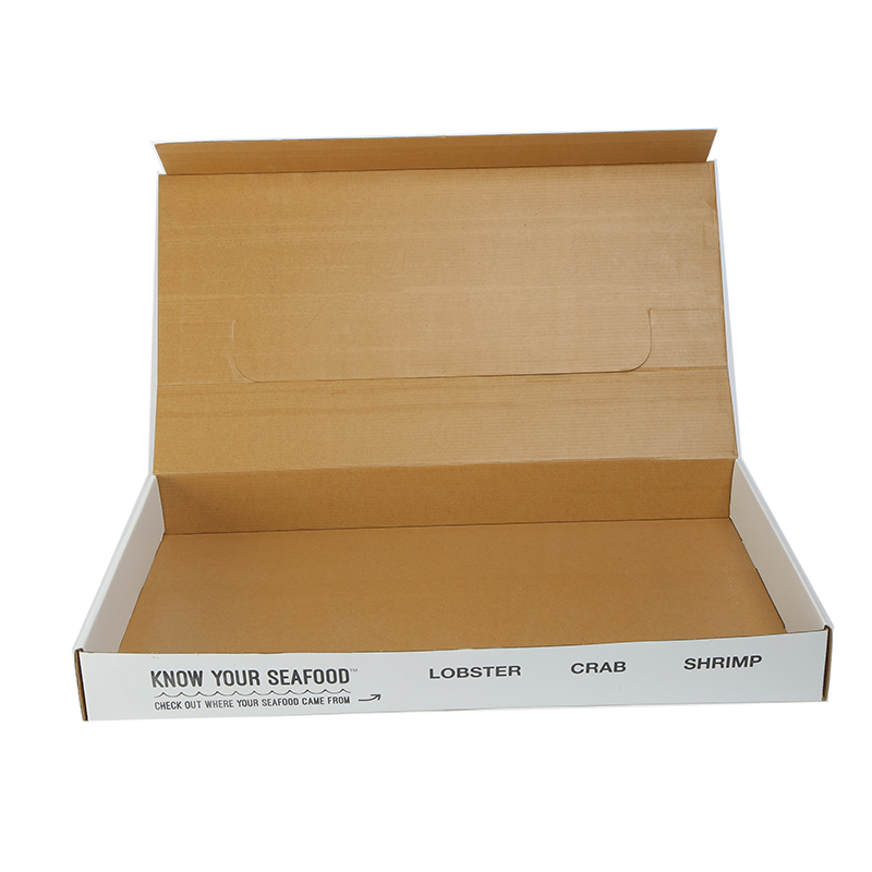 Custom packaging kraft corrugated folding paper box for shipping