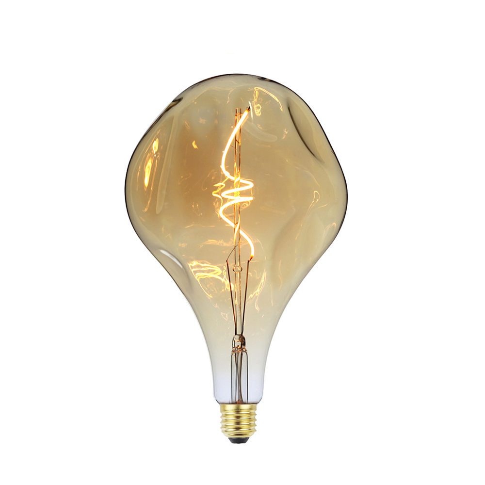 خمر الصناعية الكبيرة لمبة مصباح ليد العنبر الرجعية خيوط خمر مصباح ليد لمبة A160
