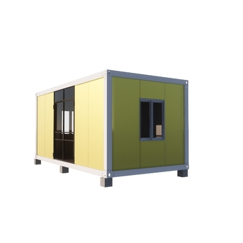 Low cost Philippines portable insulated container house 20ft for ticket booth