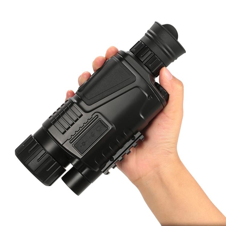 """Nuovo 5 Megapixel 5x40 Digital Night Vision Monoculare 200 m Gamma Prende Foto e Video con 1.44 """"LCD TFT Caccia Scouting Gioco"""