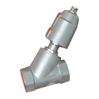 foot valve with pneumatic cylinder