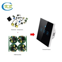 shenzhen professional electronic pcba board circuit board assembly for WIFI Smart Socket supplier