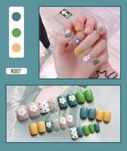 600 шт французские накладные ногти прозрачные акриловые накладные ногти полное покрытие накладные ногти гроб УФ гель маникюр накладные ногт...(Китай)