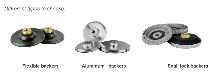Hot sale Interface pad high Density round sponge hook and loop abrasive sponge media for Disc sanding pad backer