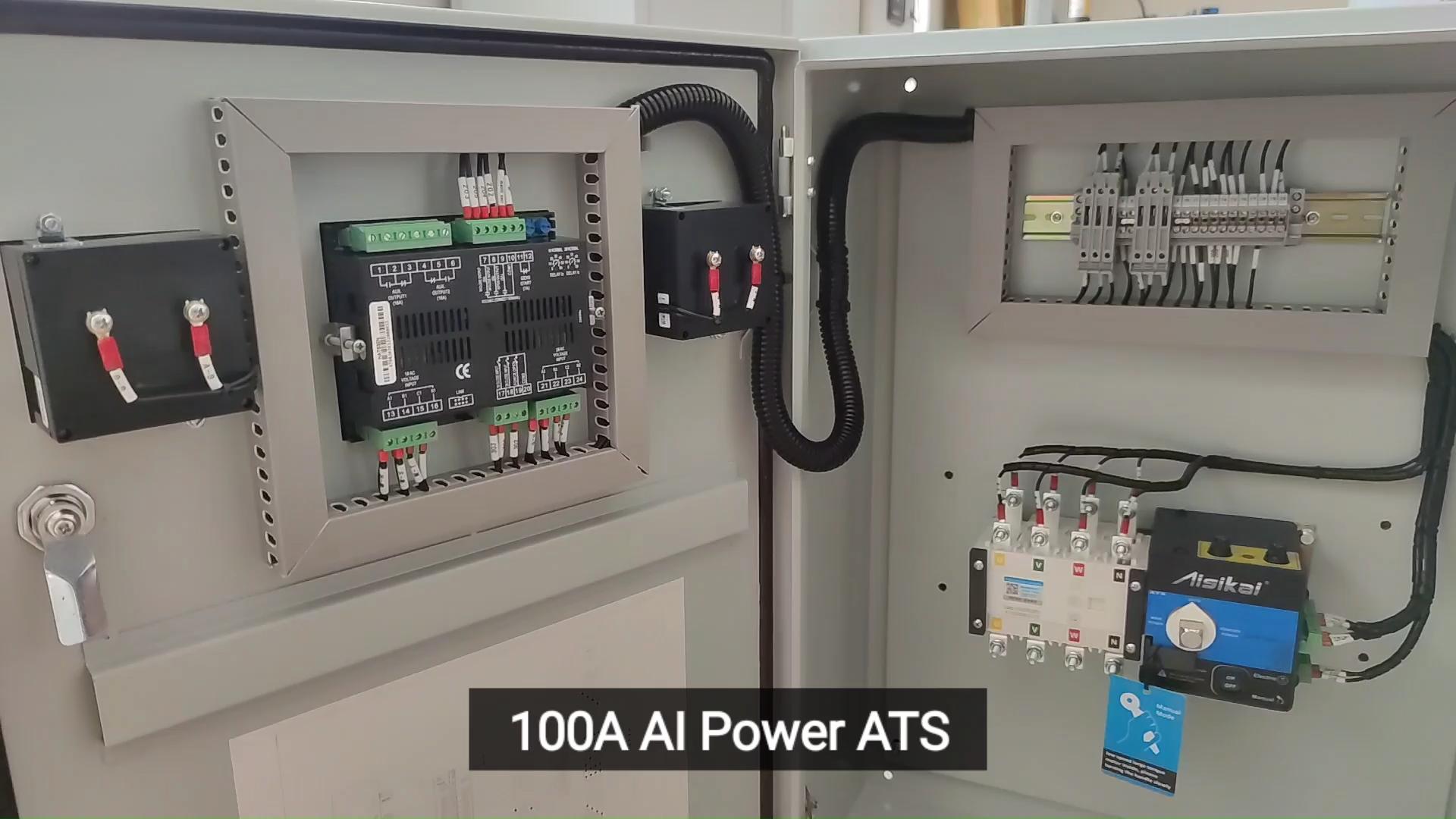 Lebih Murah ATS 100amp Automatic Transfer Switch 2P untuk Generator