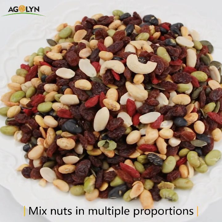 AGOLYN Daily Healthy Snacks Dried Fruits Mixed Nuts