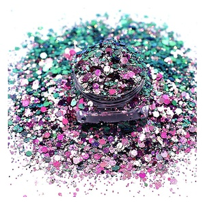 Bulk muti Color Shifting pet cosmetic chameleon glitter for craft and gift
