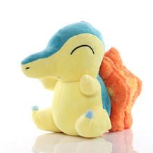 Pikachu Eevee Charmander Squirtle Bulbasaur Snorlax Lapras плюшевые куклы милые животные Эльф мягкие игрушки для детей Подарки для детей(Китай)
