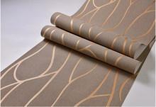 10 м Нетканая настенная бумага простая настенная бумага рулон спальня столовая гостиная настенное покрытие Современная 3D настенная бумага ...(Китай)