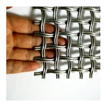 Stainless Steel Architectural Woven Wire Mesh for Decoration