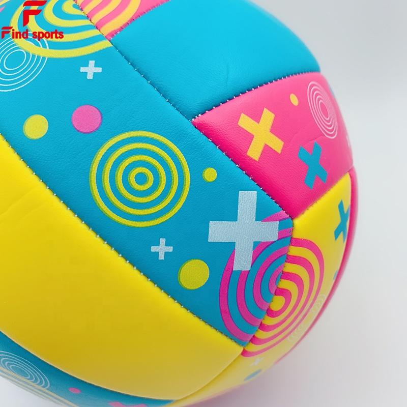 FVB супер мягкий трогательный ПВХ кожаный Волейбольный мяч Размер 5 с логотипом