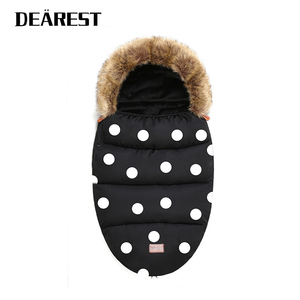 Dearest stroller Baby Sleeping bag for Stroller New High Quality Winter Warm