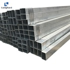 Galvanized square hollow steel pipe galvanized steel tube from Tianjin China