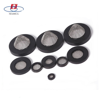 304 Stainless Steel Mesh Filter Hose Washer Filter Screen With Rubber