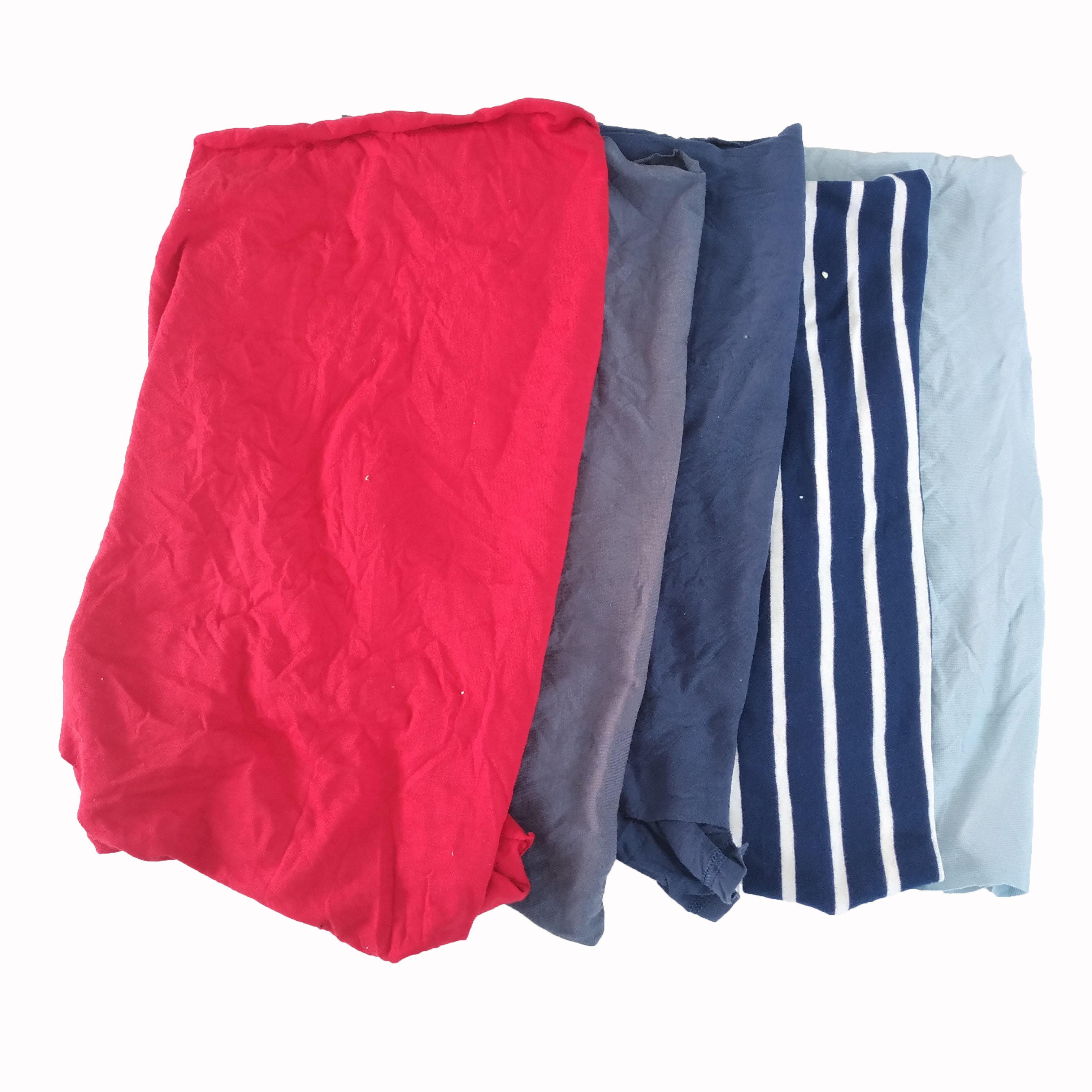 Top quality fabric cut pieces cotton yarn waste industrial cleaning wiping rags