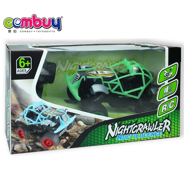 Lichtgevende Speelgoed Racer Auto 6 + Night Crawler Rc