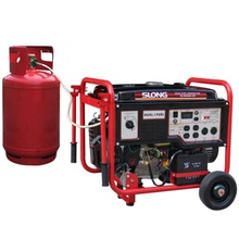 SL6500-NG SLONG AC eenfase 5kw draagbare aardgas <span class=keywords><strong>generator</strong></span>