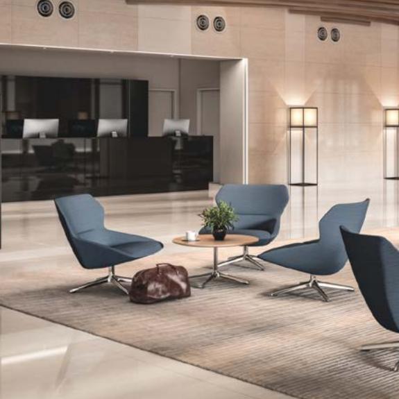 Nice quality modern fabric high seat leisure soft comfortable sofa chairs