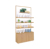 Newest Design Metal Wooden Cosmetic Display Stand