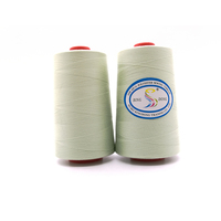 40/2 5000yd per cone 100% polyester sewing thread white china supplies