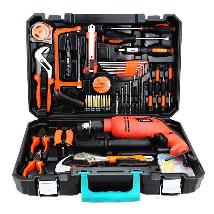 Hot Sale 112PCS <strong>Electric</strong> Drill <strong>Tools</strong> Set <strong>Hand</strong> <strong>Tools</strong> with Power Drill