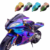 Bulk green purple gold blue colorshift motorcycle pigment powder paint auto coating chameleon pearl car paint