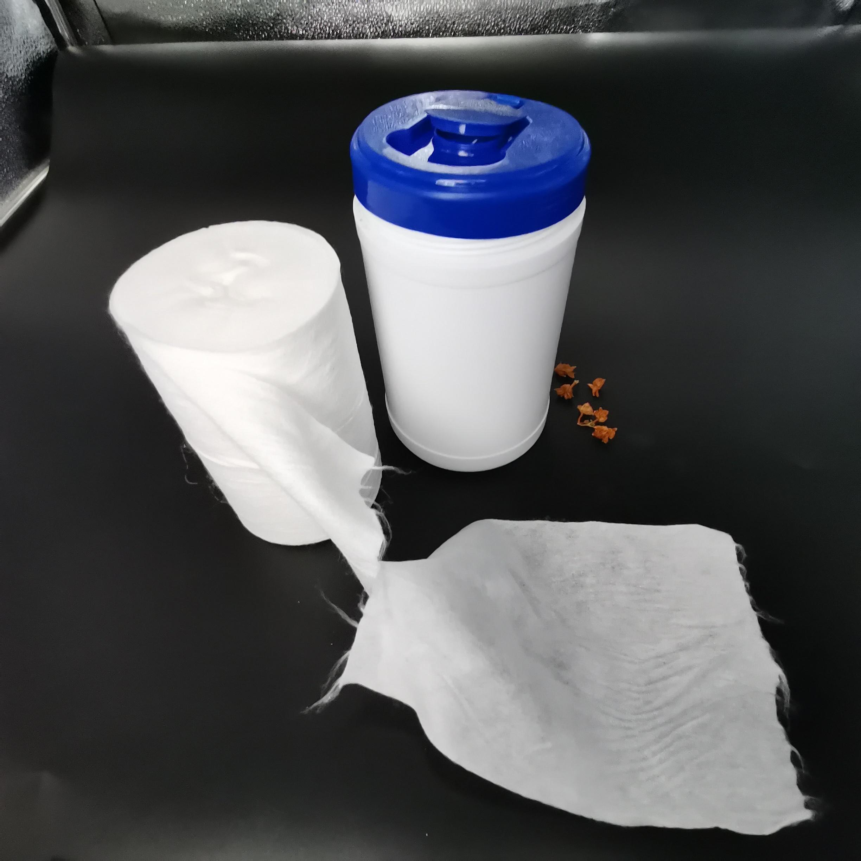 100% cotton non-woven hygienic disposable clean face towels for beauty salon