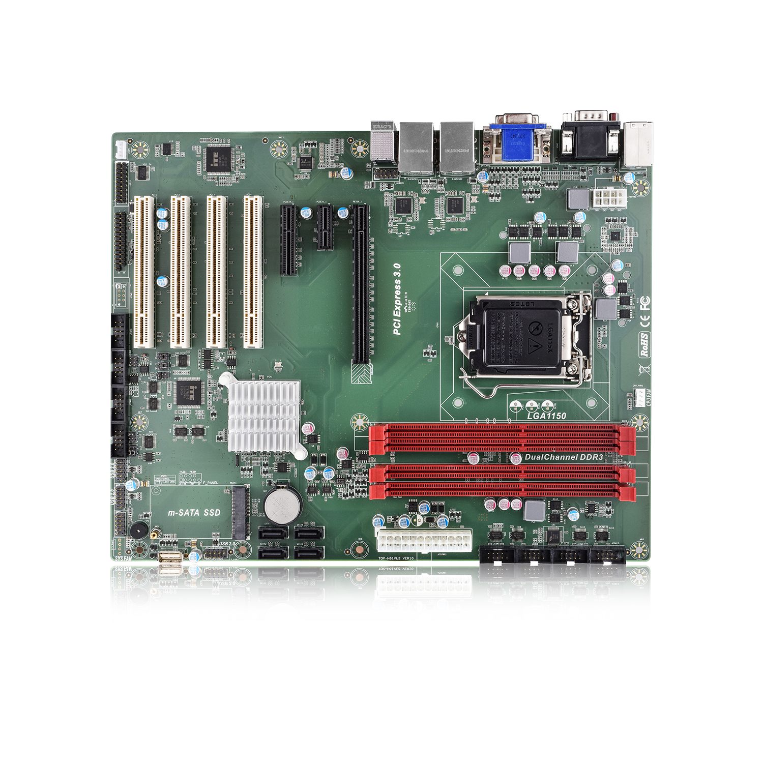 The newest machine vision industrial computer 2 pcie mini pc nic nuc board j1900 manufacturer