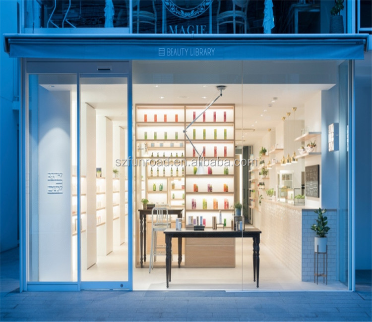 High Quality Cosmetic shop fitting and display furniture design for cosmetic store decoration