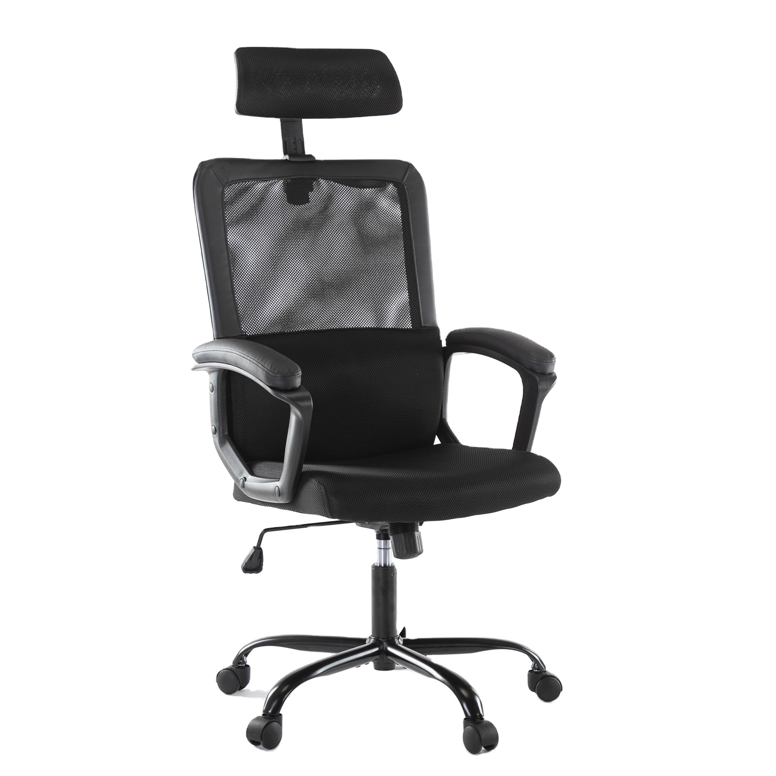 USA STOCK local Shipping Breathable Mesh Computer Chair with Ergonomic Adjustable Lumbar Support and Headrest