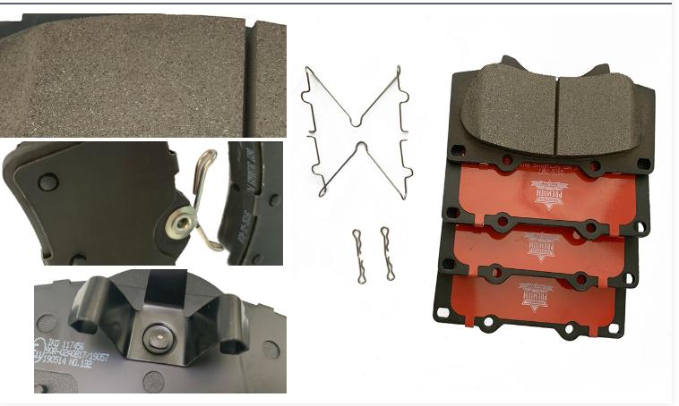 Rear D905 Ceramic Brake Pads FOR 2013 2014 2015 2016 2017 NISSAN PATHFINDER
