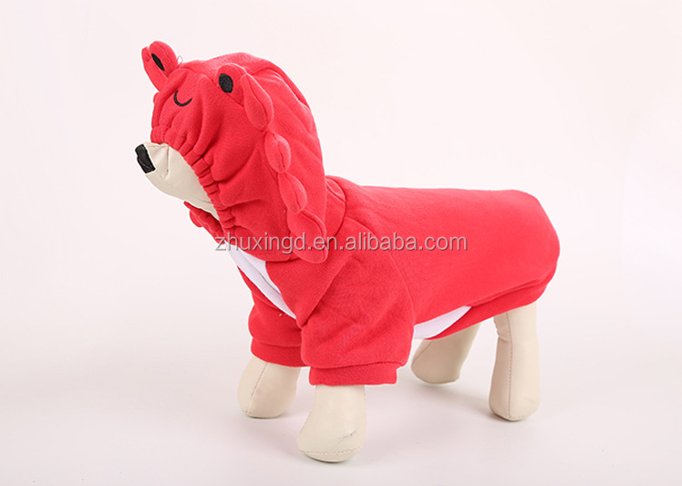 Wholesale lobster costume pet costume halloween, costume dog halloween, halloween dog clothing